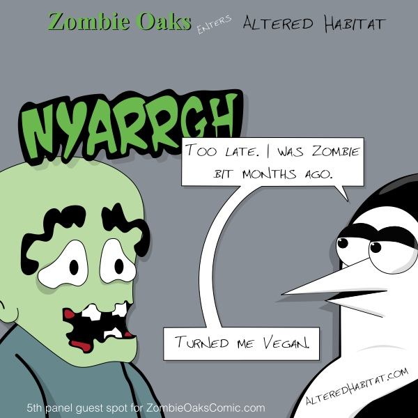 Zombie Oaks Comic fifth panel guest @ZombieOaks #5thPanelGuest
